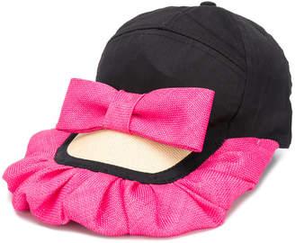 Bernstock Speirs frill bow cap