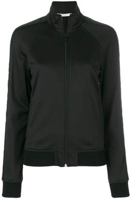 Givenchy zipped fitted sweatshirt