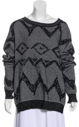 Baja East Cashmere Knit Sweater