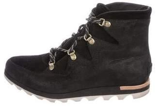 b40ff075a13 Sorel Suede Ankle Women s Boots - ShopStyle