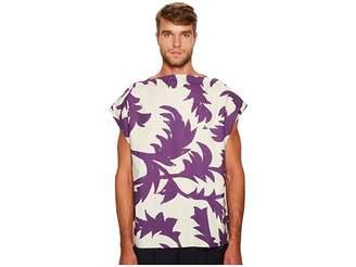Vivienne Westwood Purple Leaves Square T-Shirt Men's T Shirt