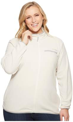 Columbia Plus Size Mountain Crest Full Zip Women's Coat