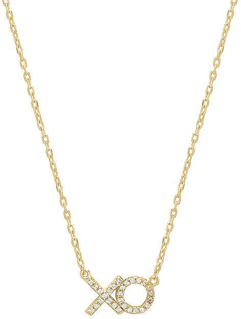 XO Pave Necklace