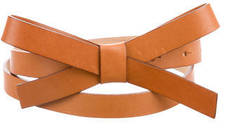 Kate Spade New York Leather Bow Belt $65 thestylecure.com
