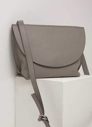 Mint Velvet Lillia Mink Saddle Bag