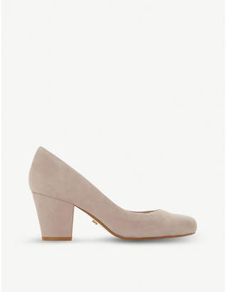 Dune Anthena suede court shoes