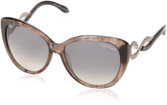 Roberto Cavalli Women's RC736S6020B Cateye Sunglasses
