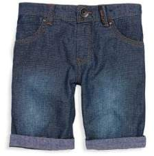Catimini Little Boy's & Boy's Textured Denim Shorts