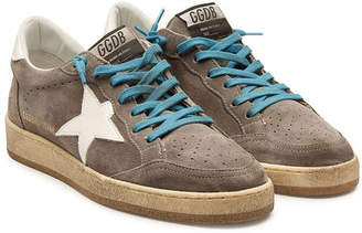 Golden Goose Ball Star Suede Sneakers
