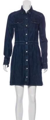 Rag & Bone Long Sleeve Mini Shirtdress w/ Tags