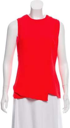 Cédric Charlier Sleeveless Crepe Top