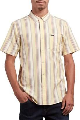 Volcom Multitone Stripe Woven Shirt