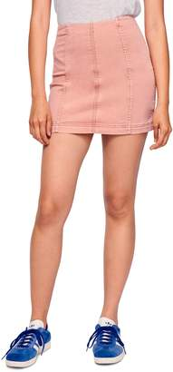 Free People Modern Denim Skirt