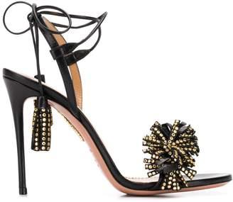 Aquazzura Wild Crystal 105 sandals