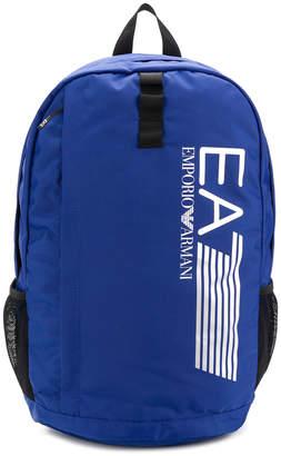 Emporio Armani Ea7 logo print backpack