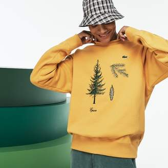 Lacoste Unisex Fashion Show Embroidered Fleece Sweatshirt