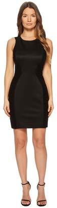 Versace Abito Donna Jersey Sleeveless Sheath Dress Women's Clothing