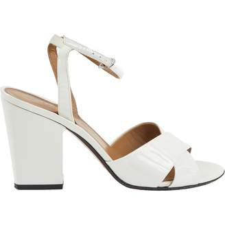 Sonia Rykiel White Patent leather Sandals