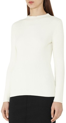 REISS Duana Ribbed Sweater $195 thestylecure.com
