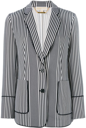 Michael Michael Kors striped blazer $302.43 thestylecure.com
