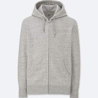 Uniqlo Men's Long Sleeve Sweat Full-zip Hoodie