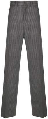 Lanvin striped wide-legged trousers