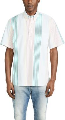 Reyn Spooner Variegated Multi Stripe Pullover