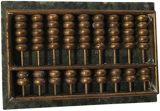 One Kings Lane Vintage Marble & Bronze Desk Abacus