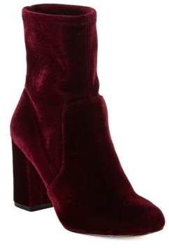 424 Fifth Grant Velvet Booties