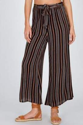 Amuse Society Stripe Tie-Front Pants