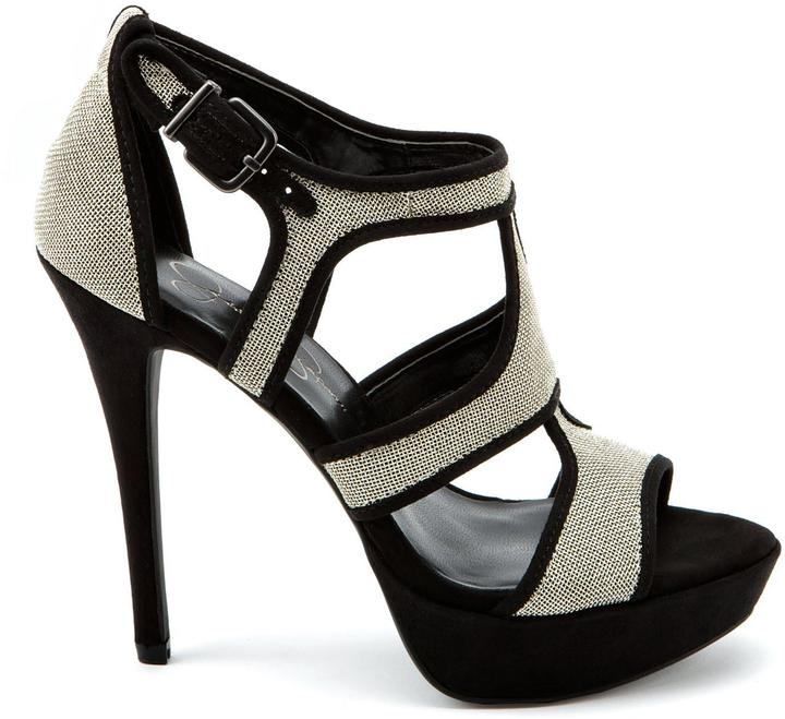 Br.Uno Silver Mesh High Heels