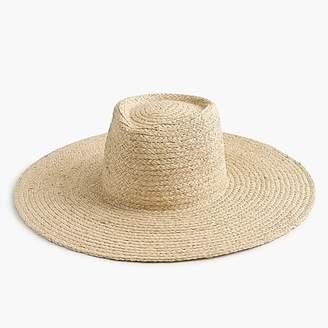 J.Crew Straw sun hat
