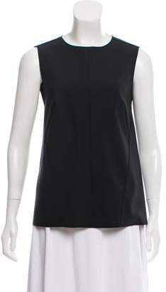 Narciso Rodriguez Sleeveless Pleated Top