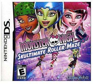 Nintendo DSTM Monster High: Skultimate Roller Maze Video Game