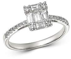 Bloomingdale's Diamond Baguette Engagement Ring in 14K White Gold, 0.75 ct. t.w. - 100% Exclusive