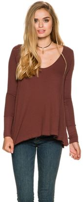 Free People Malibu Long Sleeve Thermal $68 thestylecure.com