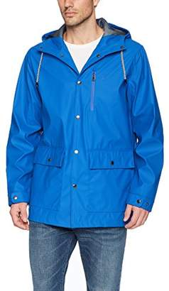 Izod Men's Waterproof Rain Slicker Jacket