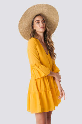 Yellow A Line Skirt Dresses - ShopStyle UK c0e3a2d60
