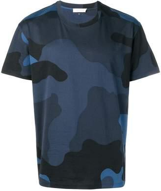 Valentino macro camouflage print T-shirt