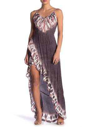 Young Fabulous & Broke YFB by Paradise Tie Back High/Low Maxi Dress