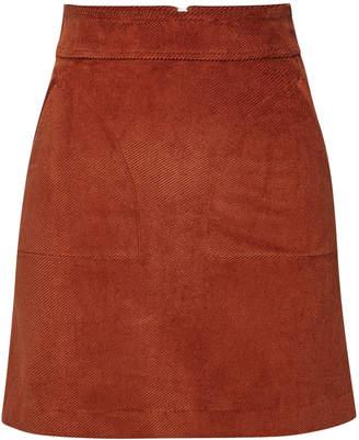 A.P.C. Shanya Corduroy Mini Skirt