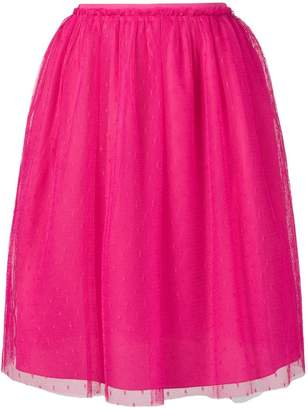 RED Valentino high waisted tulle skirt