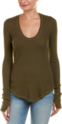 Splendid U-Neck Thermal Top