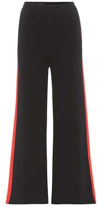 Stella McCartney Cropped cotton trousers