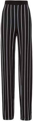 Balmain High Waist Striped Pants