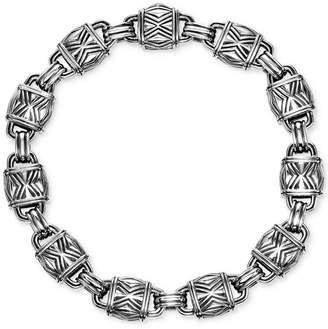 Scott Kay Men's Decorative Link Bracelet in Sterling Silver