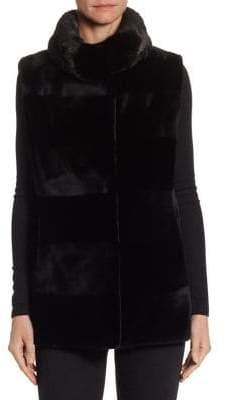 The Fur Salon Sheared Mink Vest