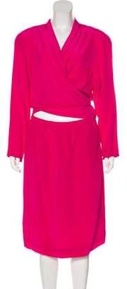 Diane von Furstenberg Structured Midi Dress