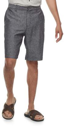 Marc Anthony Men's Slim-Fit Herringbone Linen-Blend Shorts
