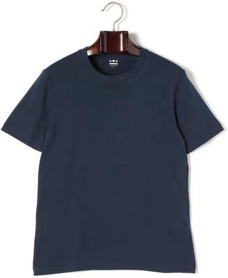 Three Dots (スリー ドッツ) - three dots クルーネック 半袖Tシャツ ドレスブルー s